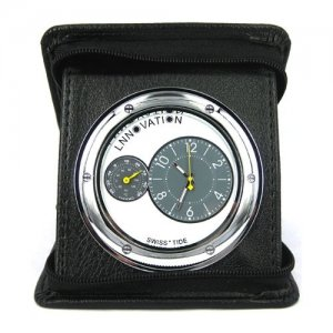 Portable Travelling Clock with 5.0MP Camera and Mobile-detection